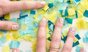 How to DIY Watercolor Nail Art Just in Time for Spring
