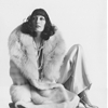 Anjelica Huston by Irving Penn, 1972.