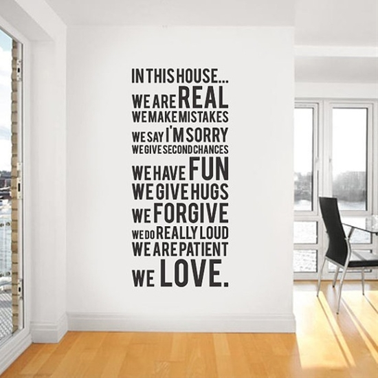 In this house we do by urbanwalls #Decal #Wall_Sticker #In_this_house_we_do #urbanwalls
