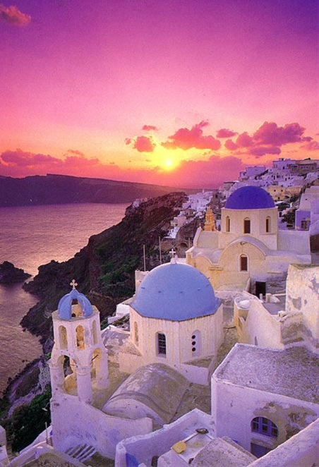 "Description: Oia, pronounced ""Ia"", is the most famous of all villages of Santorini. It is world known for its quite life and the fantastic sunset. Obviously the most beautiful and picturesque village of Santorini."