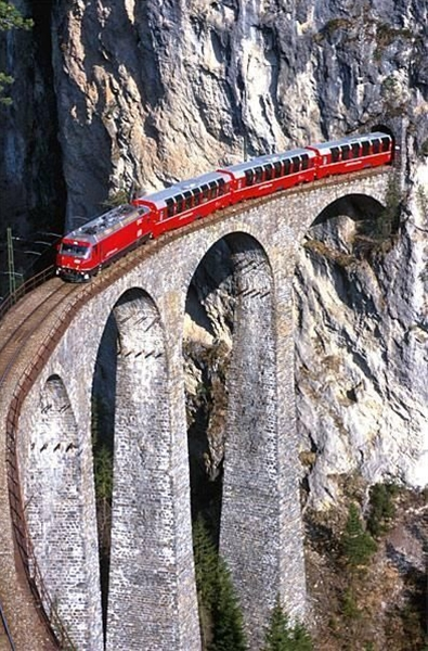 this looks like so much fun! Has anyone taken a train through the Swiss alps or Italy?