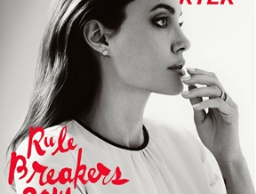 """Angelina Jolie Covers The Hollywood Reporter, Talks """"By the Sea"""""""