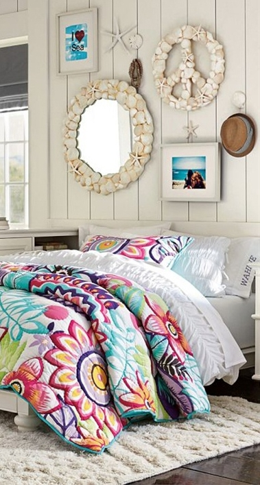 Colorful Flower Quilt