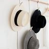 DIY HANGING COPPER HAT RACK