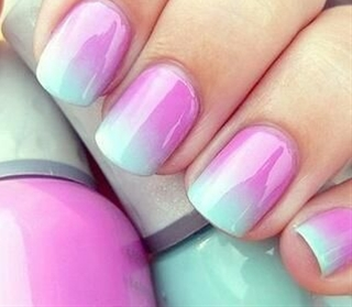 perfect nail art for summer!