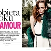 Zuzanna Bijoch Wears Ladylike Looks for Glamour Poland Cover Shoot