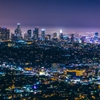 Los Angeles Lights - taken from Griffith Observatory, no tripod,...