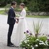 The Bride Wore Valentino! Model Sara Blomqvist Marries in New York