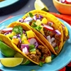 Jamaican Beef Tacos With Tropical Slaw