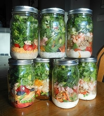 We make these each week on Sundays. Usually they are GONE within only a few days, but they will last 6-7 days! Super simple recipe inside :)   People keep asking where I get my jars, these are the exact jars I use!