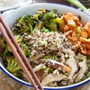 Recipe: Quinoa Bowl with Kimchi, Miso Mushrooms, and Crispy Broccoli  — Recipes from The Kitchn