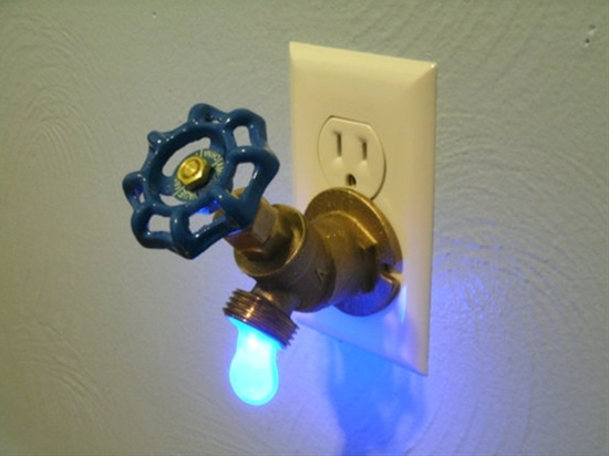 Faucet Valve night light