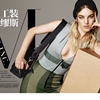 Naomi Preizler Gets Moving for Bazaar China Shoot by Shxpir