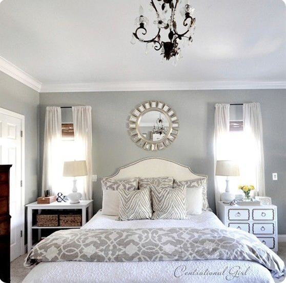 Here is the Master Bedroom that I will be decorating!  I'm in love!