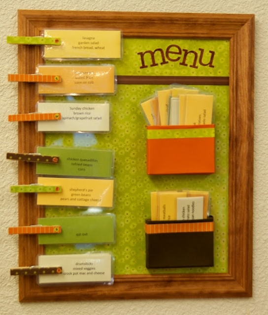 Menu boards!