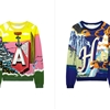 Mary Katrantzou Liberates the Letter Sweater