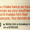Finally, some good advice from Cosmo