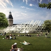 J. Mayer H. designs gridded pavilion for Karlsruhe's 300-year anniversary