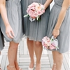 Pink & Gray Downtown Cincinnati Wedding