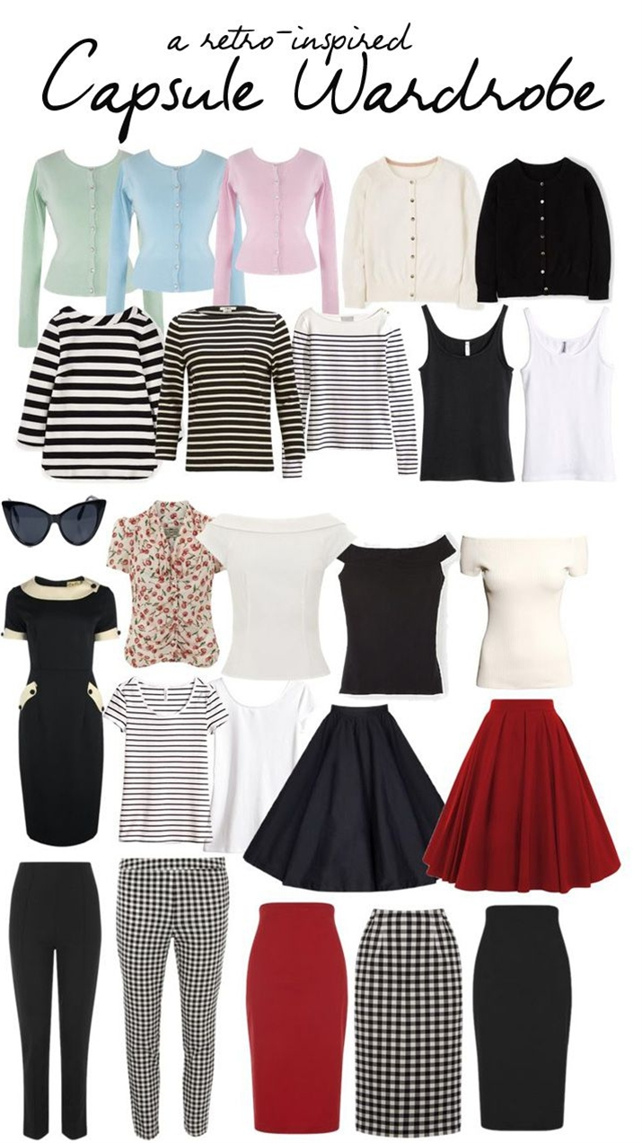 Despite the backlash, though, I'm still fascinated by the idea of capsule wardrobes, and, as I said in this post, I recently decided to create one myself. Now, I'm WAY too much of a shopaholic to ever want to restrict myself to wearing the same five items over and over again, so the my aim definitely wasn't to pare down my closet to the bare minimum and then never buy anything else again.