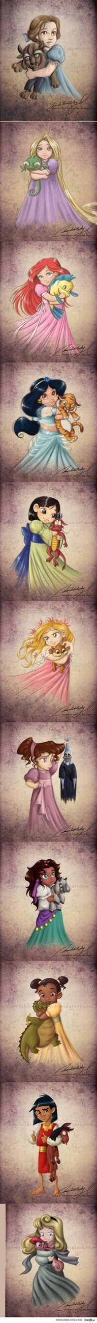 baby disney princess. Meg = priceless