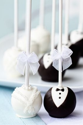 an idea for engagement party cakes that will help celebrate the happy couple!