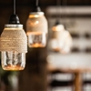 DIY Project: Rope-Wrapped Mason Jar Lights