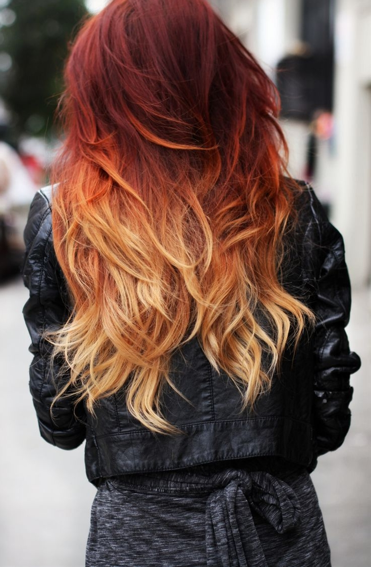 Ombre - love the colors.