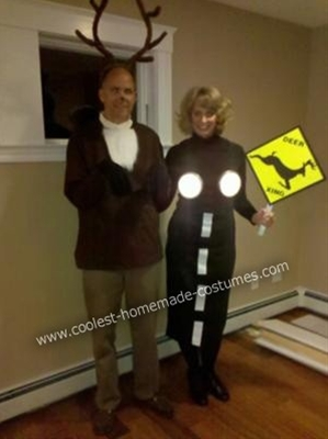 Haha!  Best couples halloween costume ever!