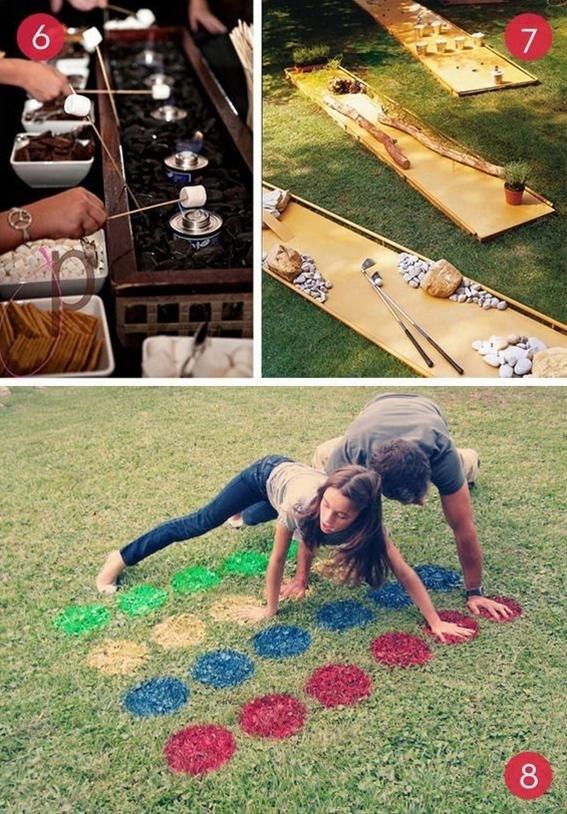10 Fun DIY Backyard Entertainment Ideas great ideas for summer outdoor weddings