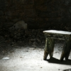 Lone Stool. Eastern State Penitentiary - 7/5/14 by rebeccabatty ...