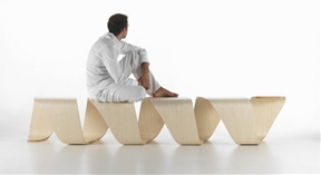 Engaging DNA Bench By True Design Adding Appeal To Public Spaces