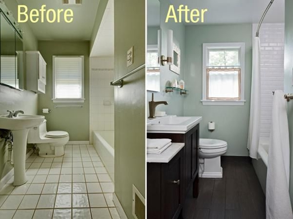 Would love to do this remodel. My bathroom is laid out just like this!