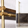 Storage/Furniture: Brass Shelving from Amuneal