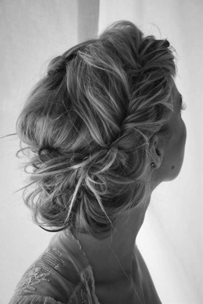 It's seems that brides' love of braids is eternal! Whether you incorporate smaller braids into an updo, or you opt for a single side-swept fishtail, braids are a perfect look for trendsetting brides.