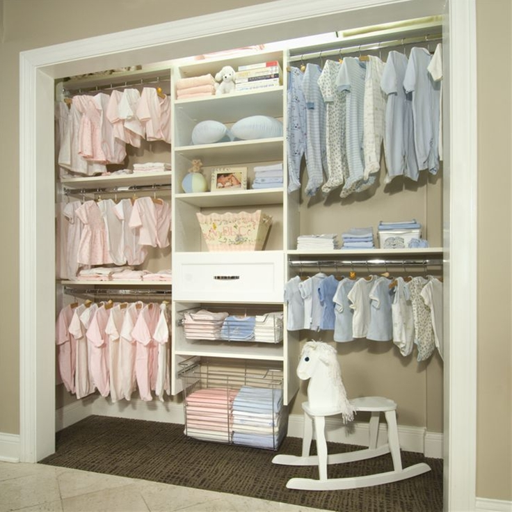 Baby Closet (Simple Collection). Nifty layout, especially if I have twins at some point