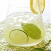Basil-Cucumber Gin Cooler
