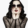 Burlesque Star Dita Von Teese Launches Eyewear Line