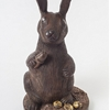 World's most extravagant chocolate Easter bunny has diamonds for eyes and costs $49,000.