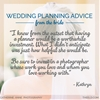 Wedding Planning Advice: From The Bride | 001