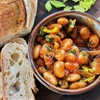 Warm Spanish-Style Giant Bean Salad With Smoked Paprika and Celery