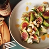 Figs With Marcona Almonds, Aged Goat Cheese, and Hot Honey